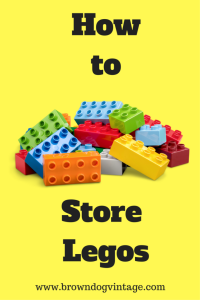 Semi DIY solution for how to store legos and lego sets