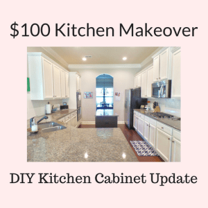 Thrifty DIY Kitchen Makeover – The Reveal!