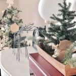 christmas dining room diy rustic tree ornaments