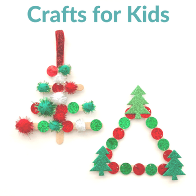 Kid Crafts – Easy DIY Popsicle Stick Christmas Trees