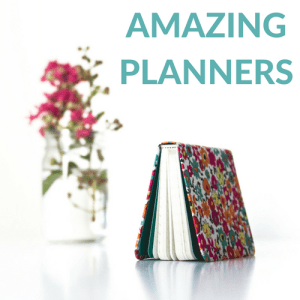 Amazing Planners to Help You Get Organized