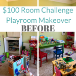 $100 playroom makeover before pics and plans