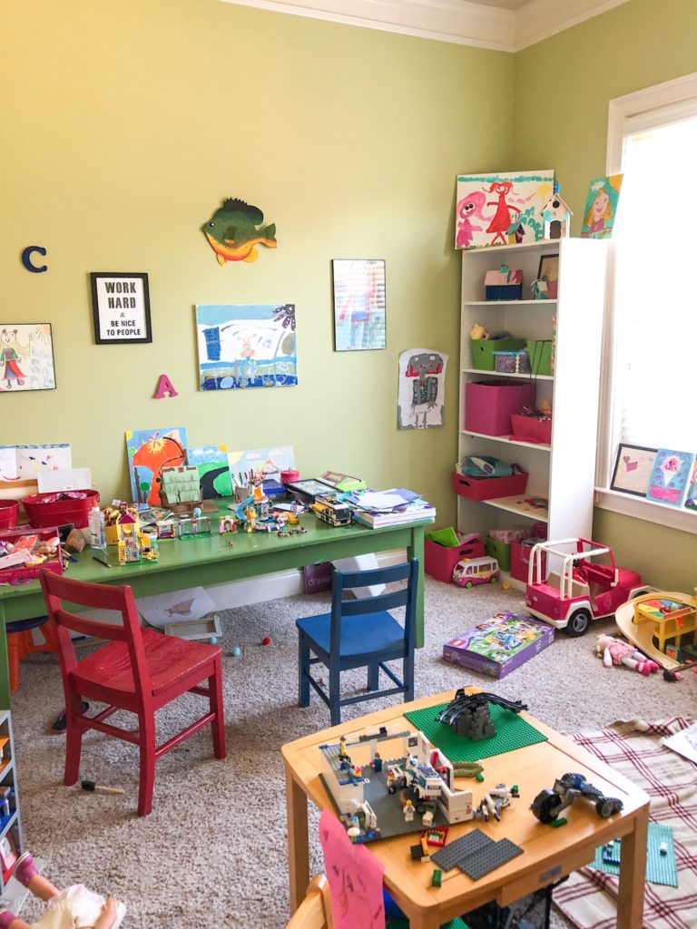 playroom makeover before picture