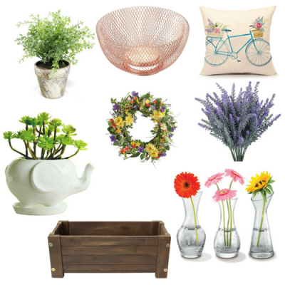 Spring Decor for $20 or Less