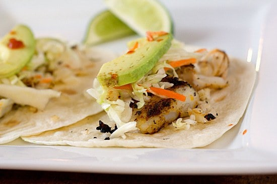 Grilled Fish Tacos Brown Eyed Baker