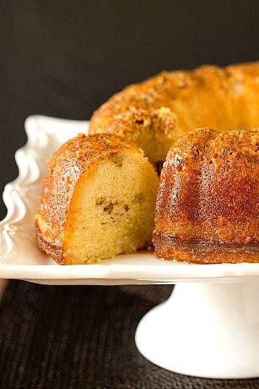 Top 10 List: Favorite Cake Recipes >> Homemade Rum Cake From Scratch | browneyedbaker.com