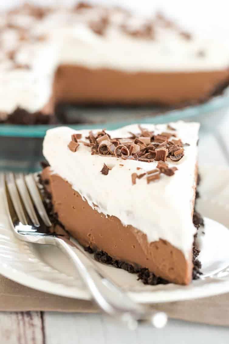 Chocolate Cream Pie Brown Eyed Baker