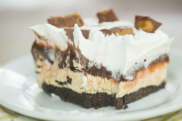 Three Layer Chocolate Mousse Cake