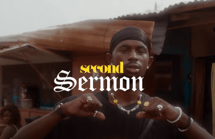 Black sherif 'fights' poverty again on 'Second Sermon'-Watch Video