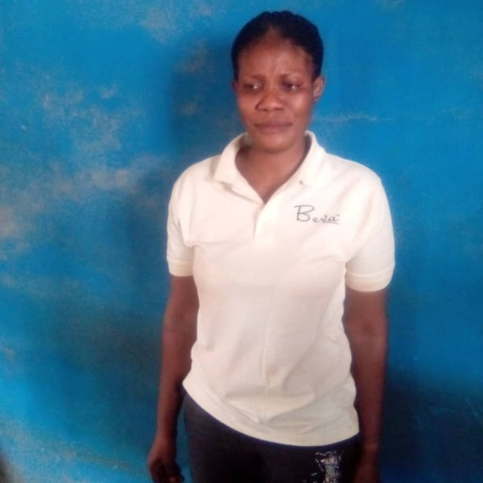 Wicked woman arrested for beating daughter to death