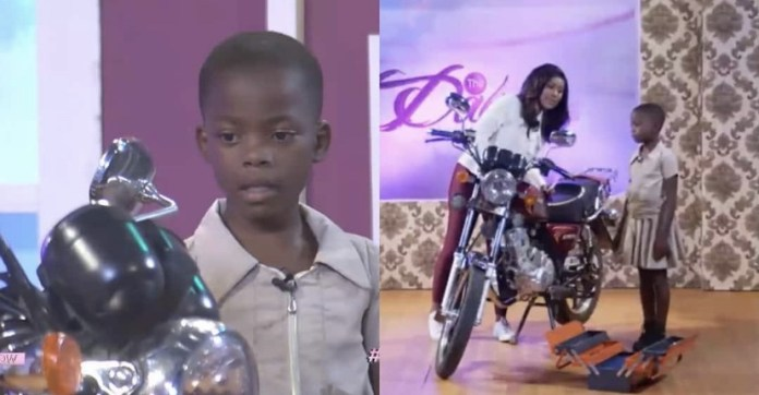 Meet the Ghanaian girl who started fixing motorbikes at age 3 (Video)