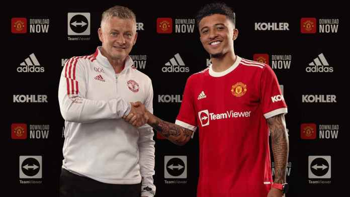 BREAKING: Manchester United announce the signing of Jadon Sancho