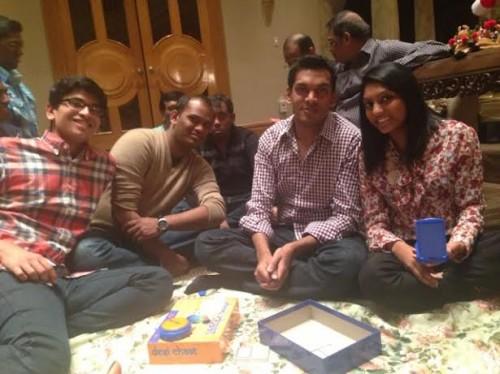 desi chaat family
