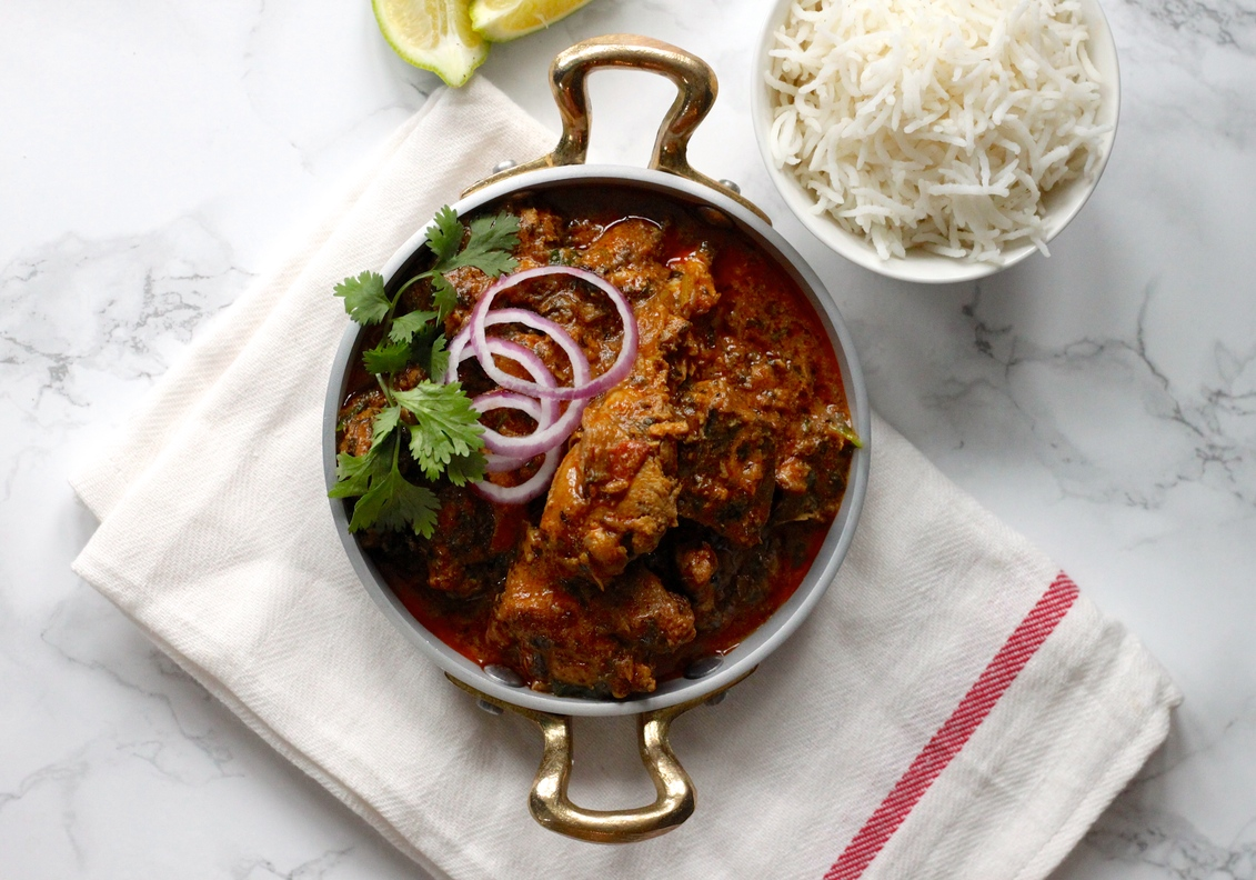 Celebrate End with this Methi Chicken