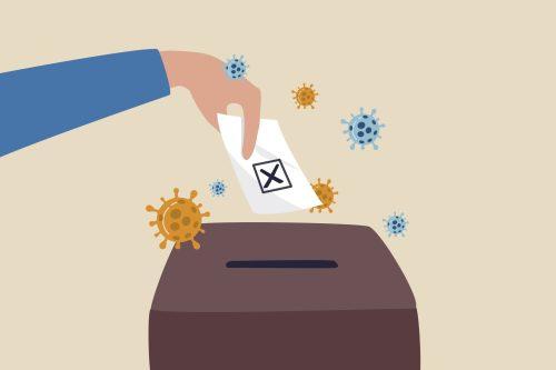 voting coronavirus