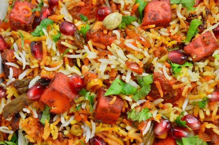Biryani, But Make It Vegetarian: Tandoori Paneer Biryani