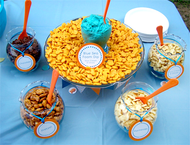 Bubble Guppies Party Food Ideas Brownie Bites Blog