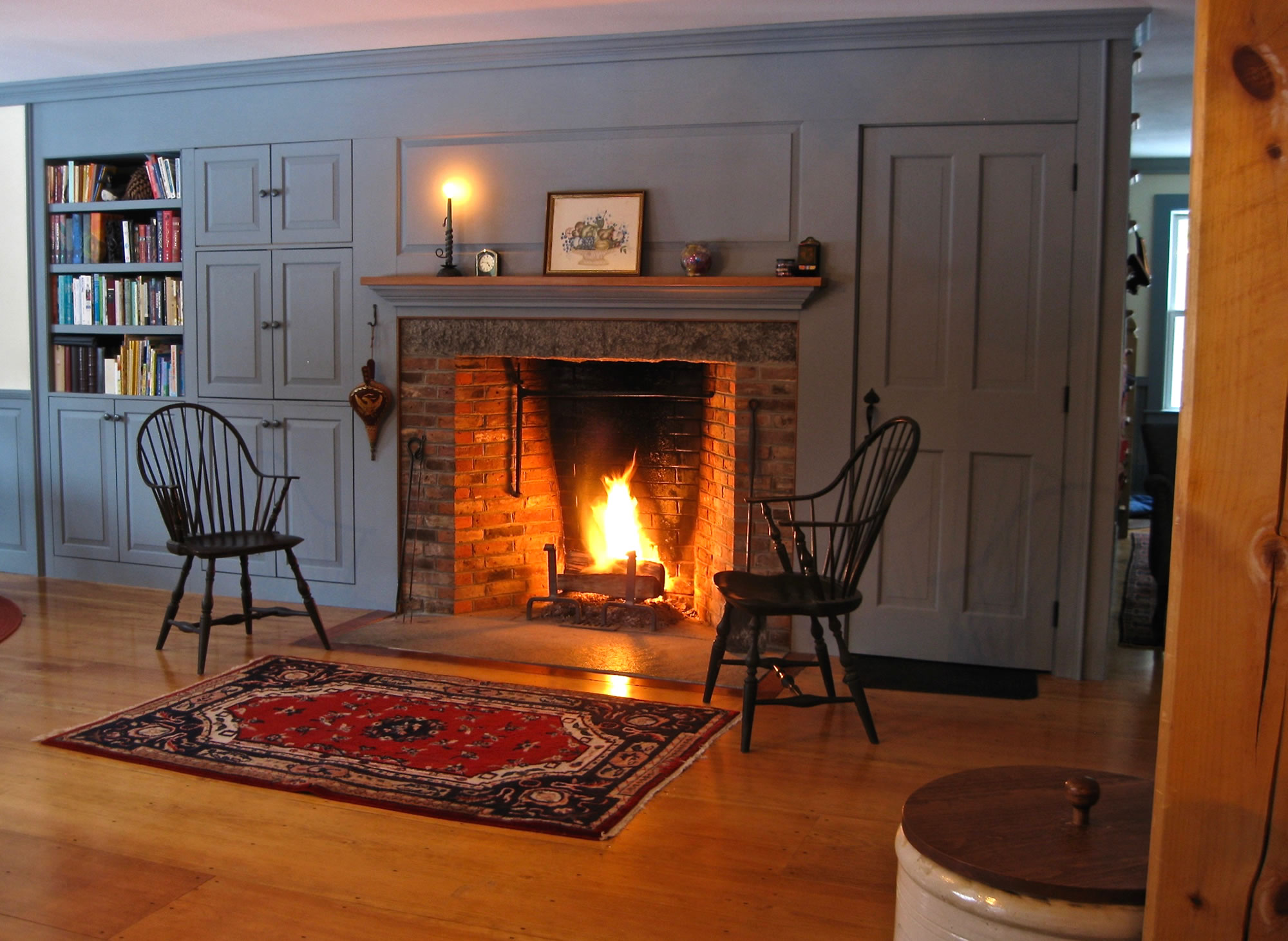 marvelous rumford fireplaces #3: Brown Masonry