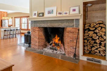 Antique Rumford Fireplaces Brown Family Masonry