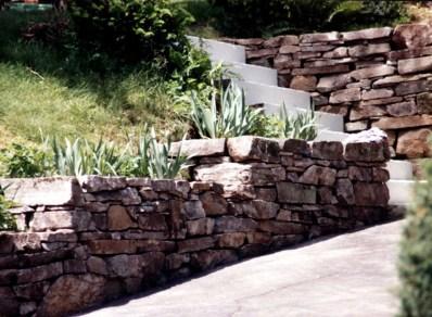 walkway wall