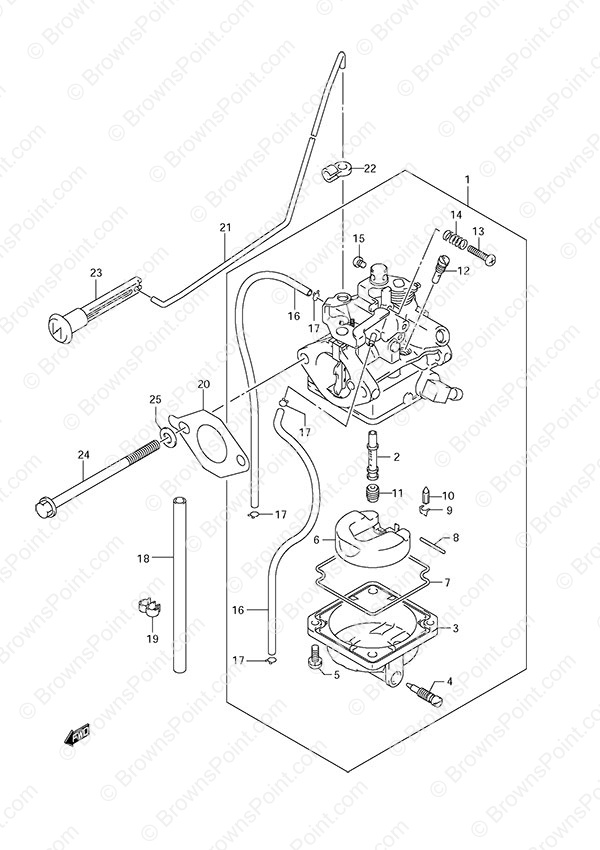 Diagram Suzuki Df6a Wiring Diagram