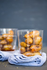 small potatoes with chipotle peppers