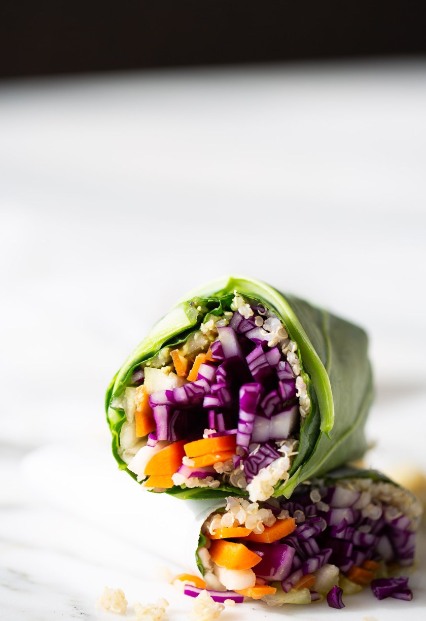 collard greens burritos