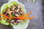 Best and easiest lettuce cups ever