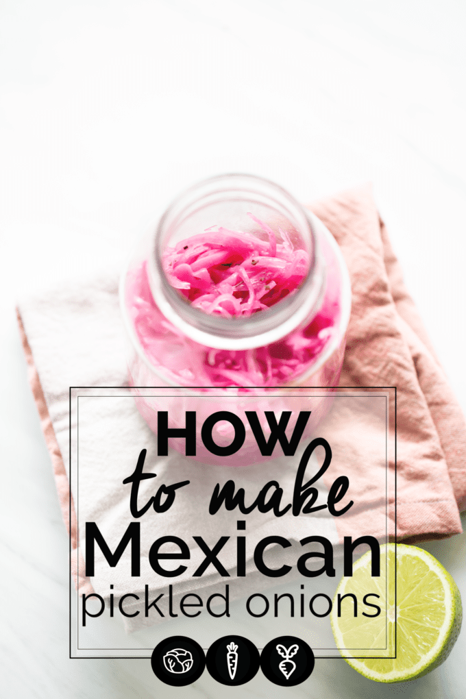 How to make Mexican Pickled Onions