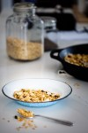 Stovetop granola in five minutes