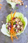 Best and easiest Vegan Asian lettuce wraps