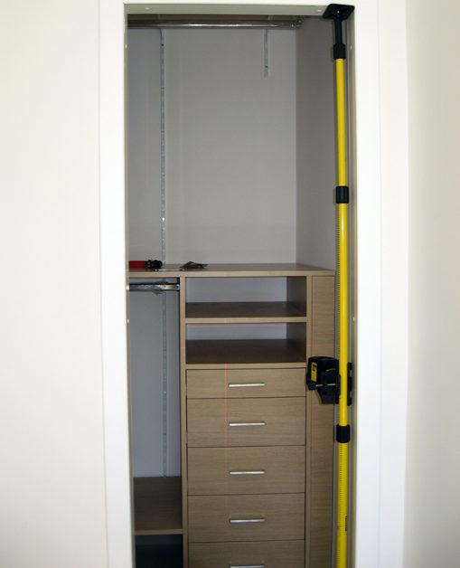 cabina armadio montaggio