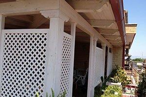 Mobili da esterno grigliata balconi