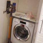 armadio a muro con vano lavatrice