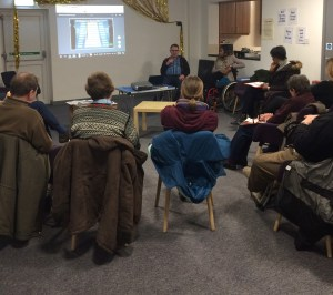 Discussion at Attenborough, Chilwell & Toton Branch meeting