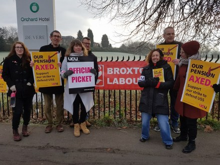 UCU Strike From The Picket Line