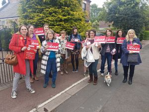 Broxtowe Labour women only canvass