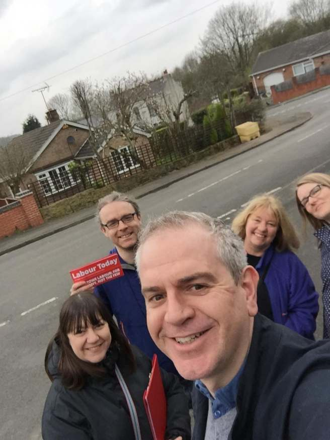 Out and about in Awsworth