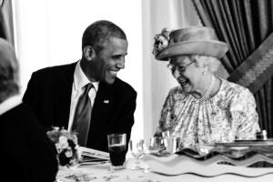 Barack Obama (USA, 2009-2017), Alžběta II. (královna Spojeného království, 1952-)