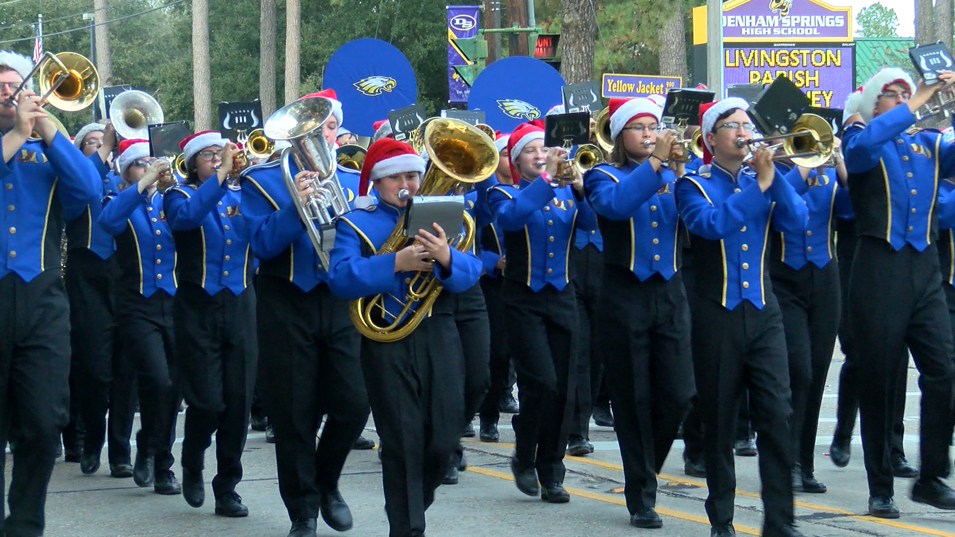2020 Denham Springs Christmas Parade Denham Springs Christmas Parade draws hundreds of families