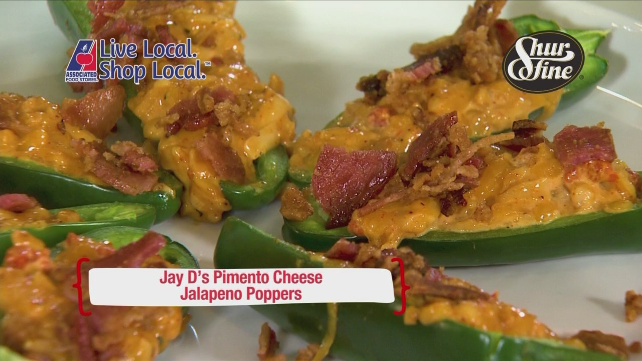 Cookin' Louisiane - Pimento Cheese Jalapeno Poppers