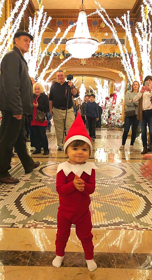Baby Elf On The Shelf Stops Foot Traffic At New Orleans