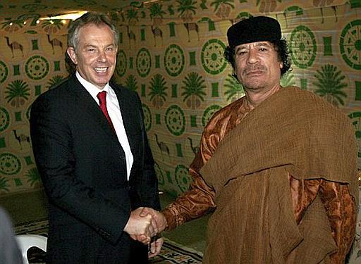 The Libyan civil war