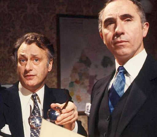 Yes Minister in the Prime Minister's offices at 10 Downing Street