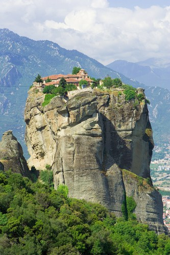 Eastern Orthodox monastery in Greece