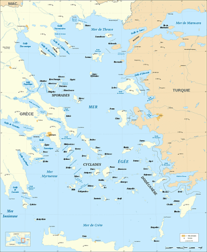 Sell some of these islands to Turkey