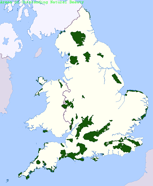 Areas of Outstanding Natural Beauty