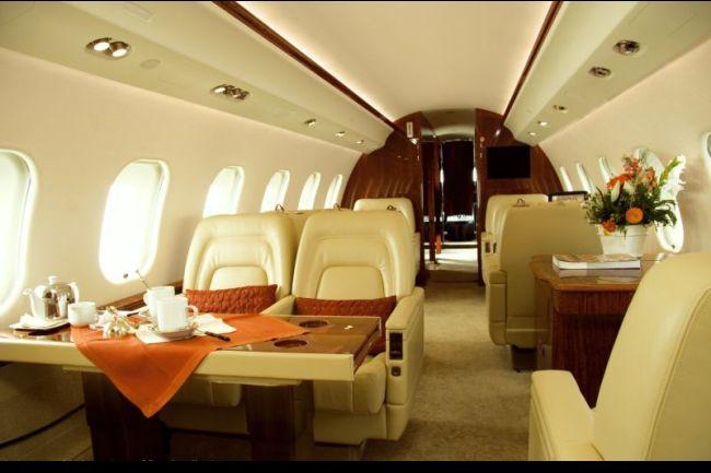 Global Express interior 650