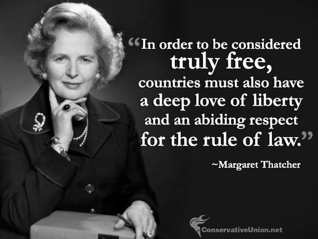 Thatcher freedom and the rule of law 650