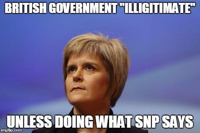 SNP illigitimate 650